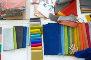 interior design fabric color options